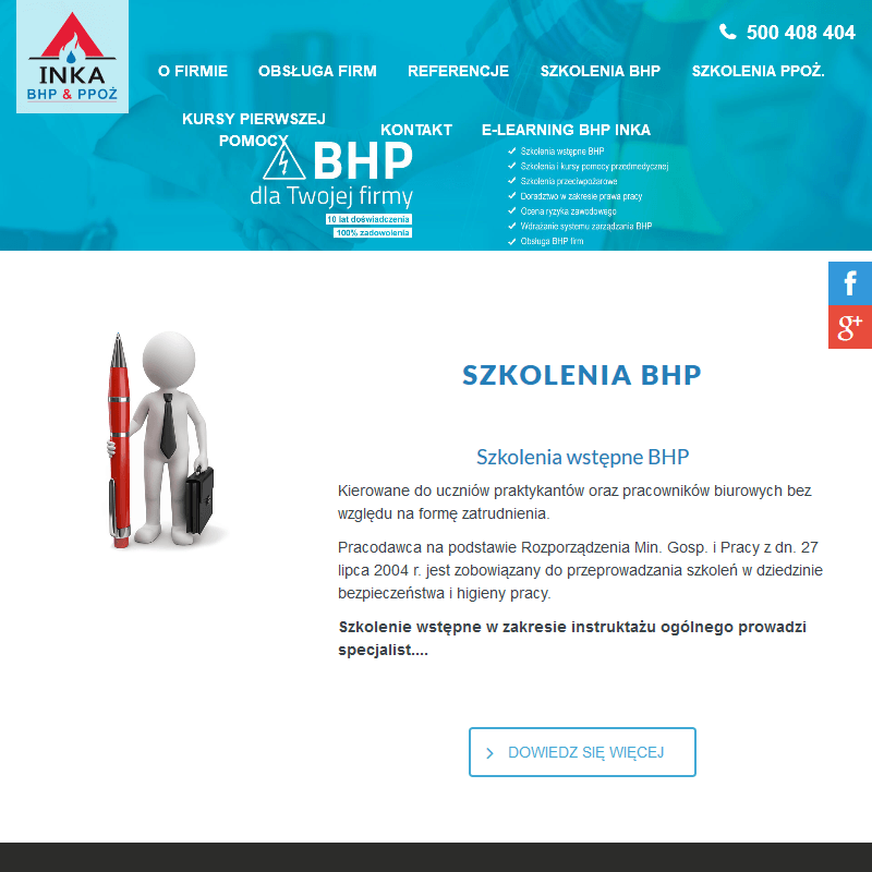 Katowice - szkolenia bhp online