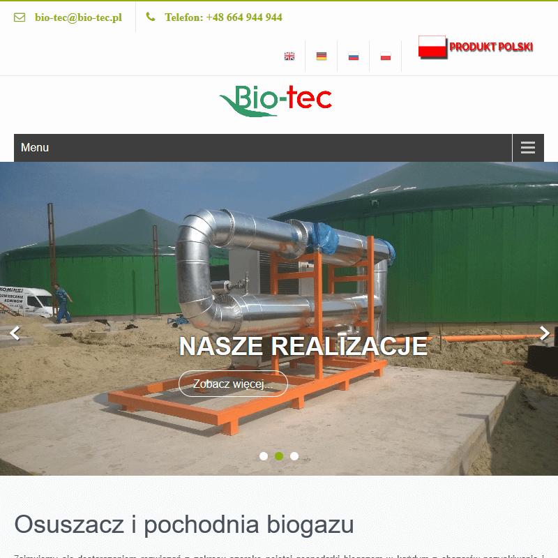 Odsiarczanie biogazu