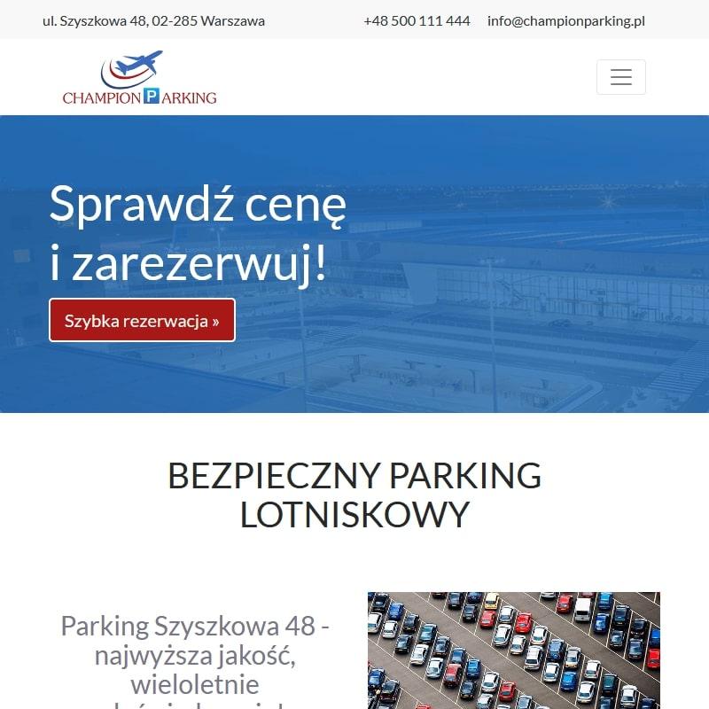 Parking warszawa lotnisko szyszkowa - Warszawa