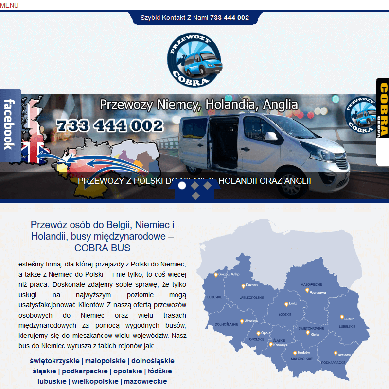 Warszawa - busy do niemiec z rzeszowa