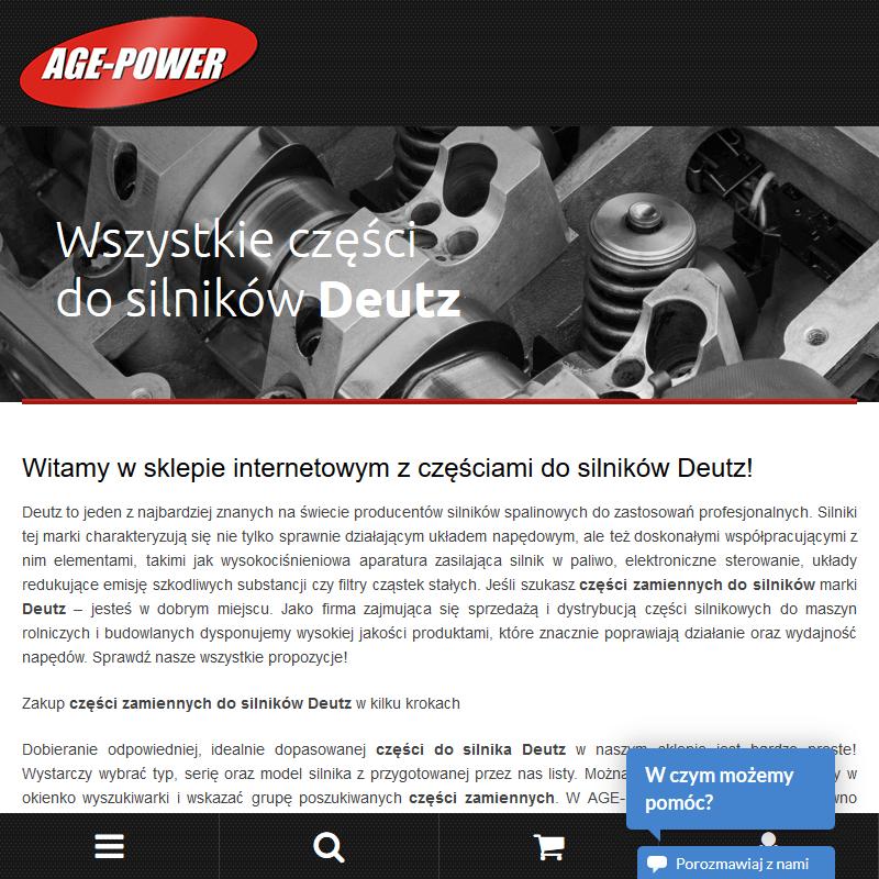 Części deutz Warszawa