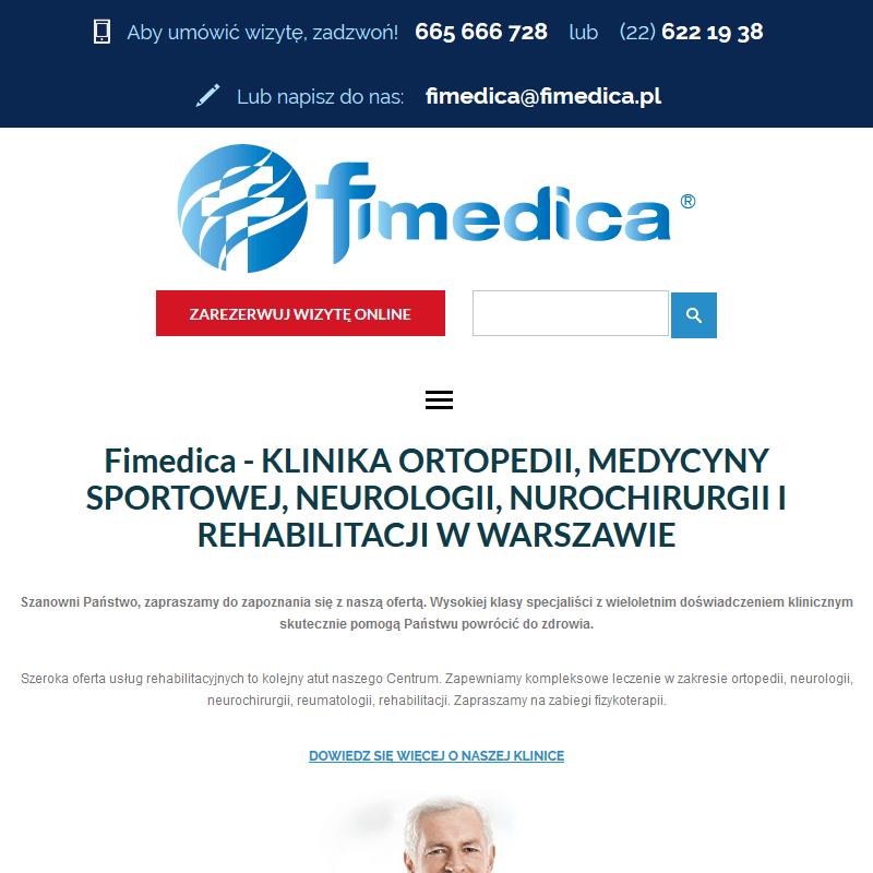 Warszawa - rehabilitacja kolana