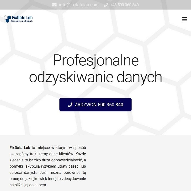 Warszawa - odzyskiwanie danych z dysków warszawa mokotów