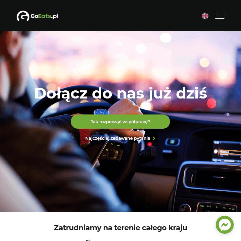Dostawca uber eats - Bydgoszcz