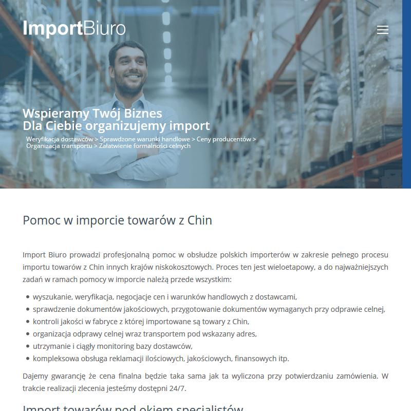 Import towarów z tajlandii