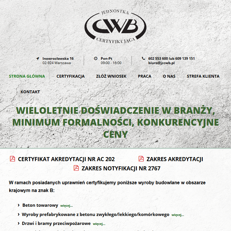 Warszawa - instytut techniki budowlanej