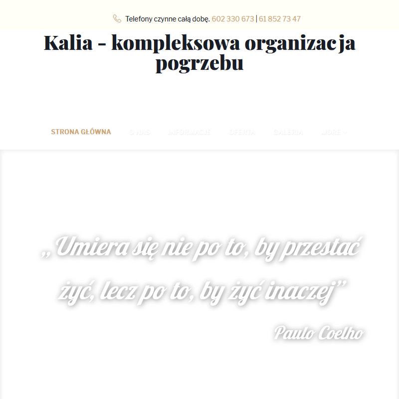 Dokumenty pogrzebowe - Poznań
