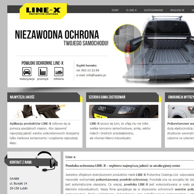 Ochrona karoserii line-x - Lublin