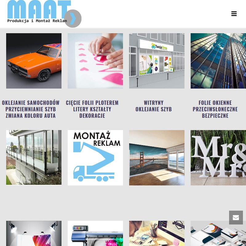 Projekt graficzny witryny w Piasecznie