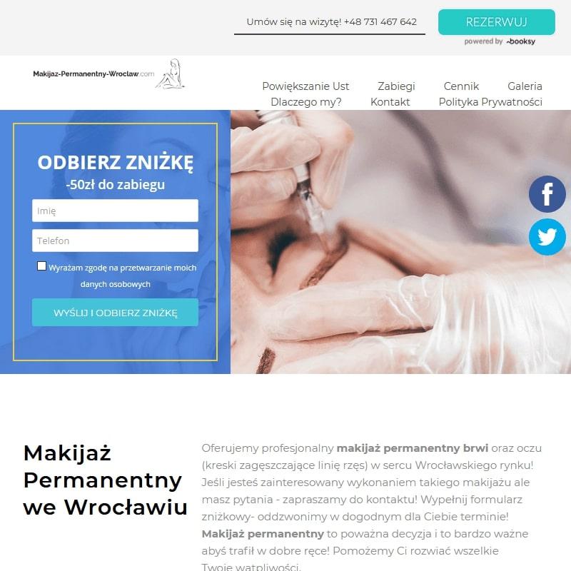 Makijaż permanentny kreski Wrocław