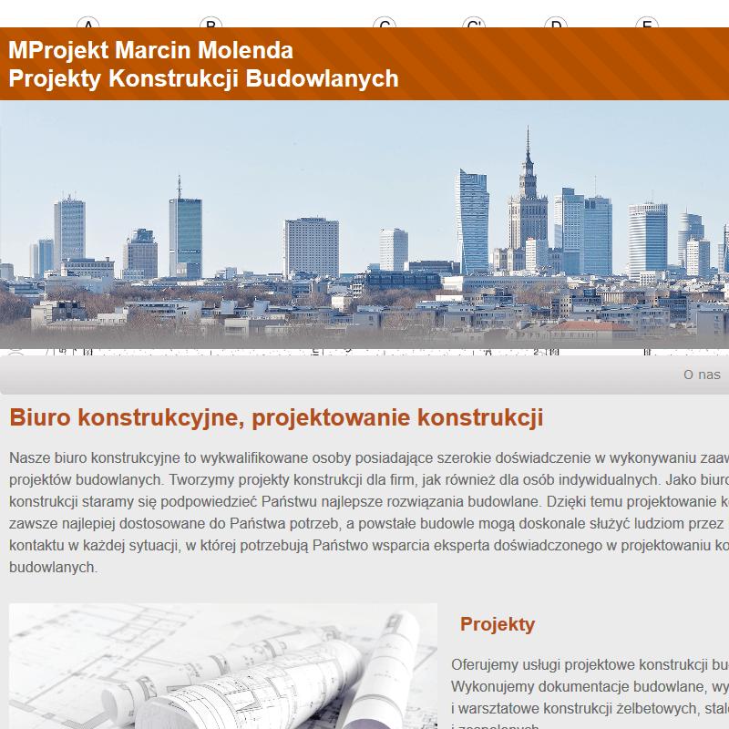Konstruktor budowlany mazowieckie w Warszawie