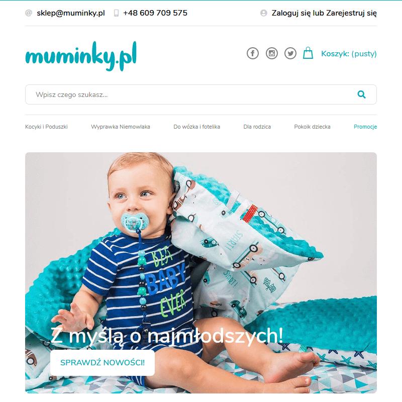 Śliczna pościel dla niemowląt