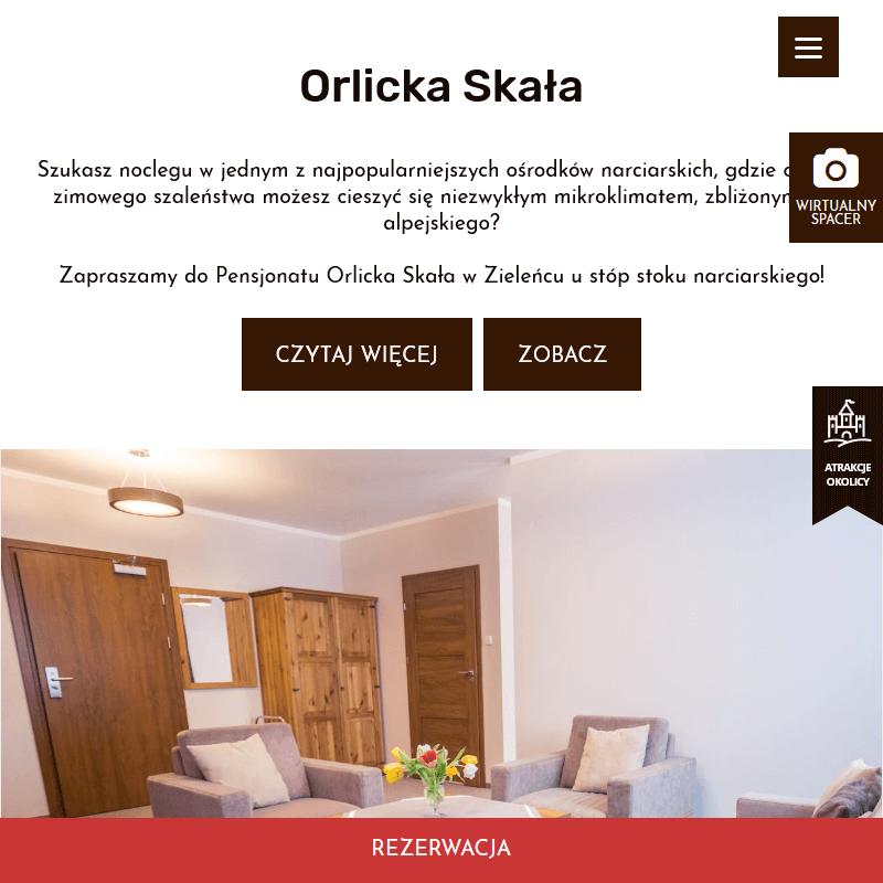 Duszniki Zdrój - nocleg zieleniec ski arena