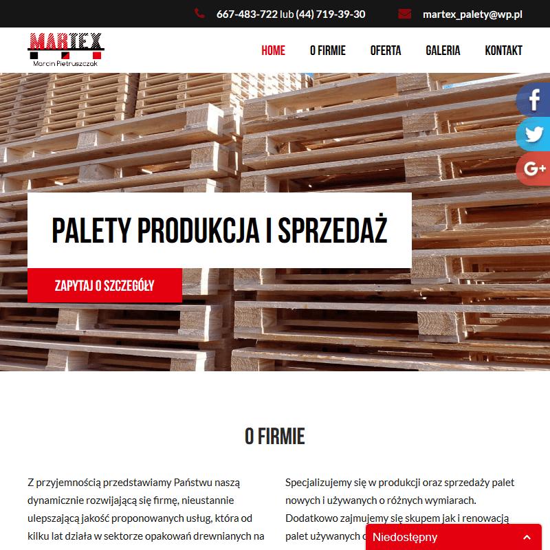 Warszawa - producent palet