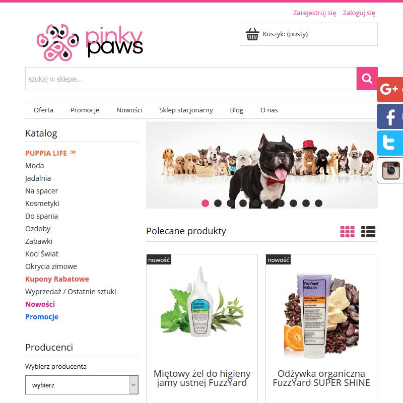 Łódź - moda dla małych psów