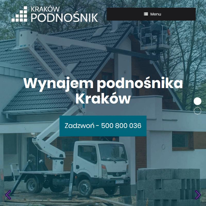 Podnośnik samochodowy w Krakowie