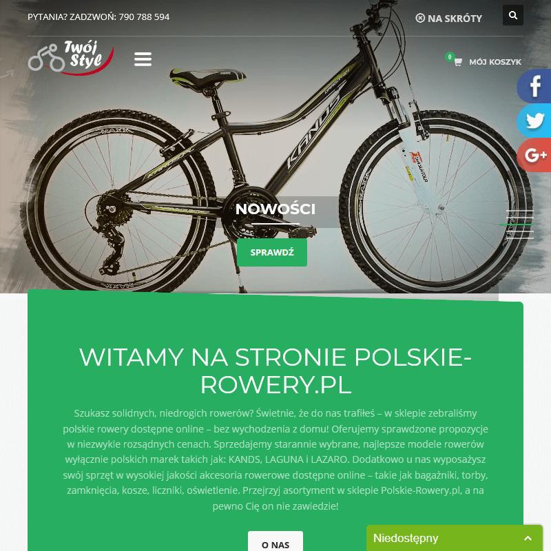 Serwis polskich rowerów online