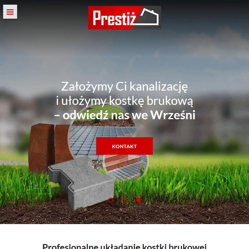 Układanie kostki brukowej środa Wielkopolska - Poznań