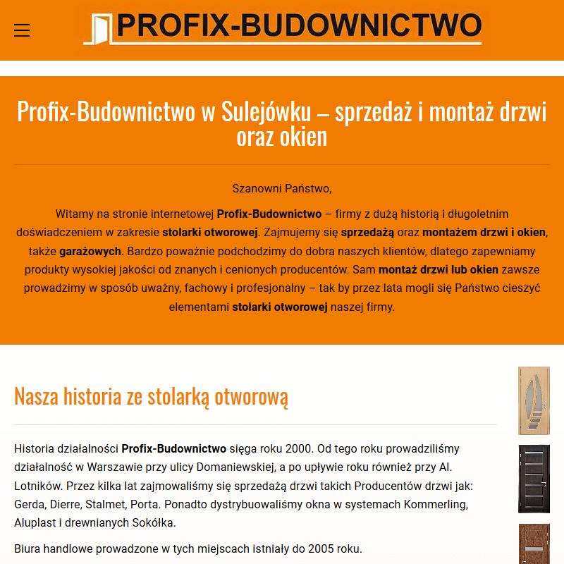 Warszawa - drzwi domoferm