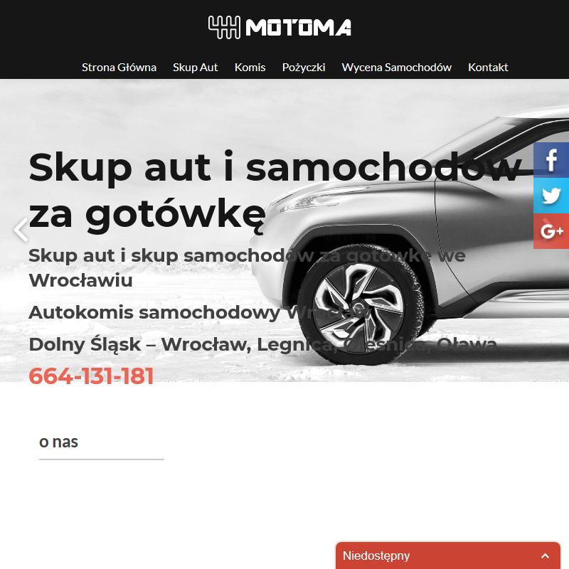 Wrocław - skup pojazdów osobowych