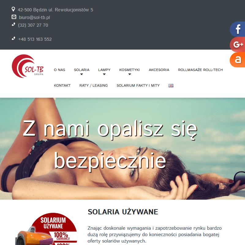 Katowice - dzierżawa solariów