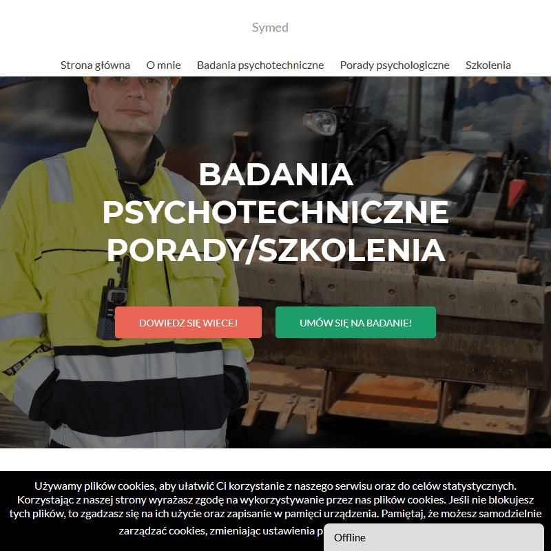 Badania psychotechniczne ze skierowania - Dąbrowa Górnicza