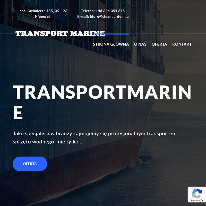 Transport żaglówek - łódź