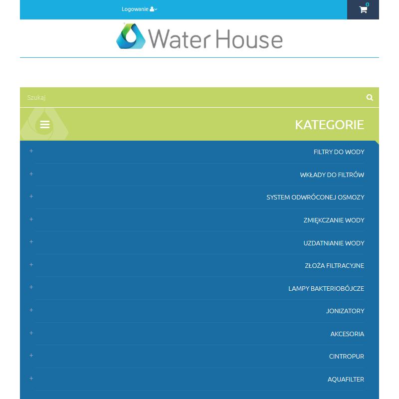 Filtry osmotyczne do wody - Warszawa